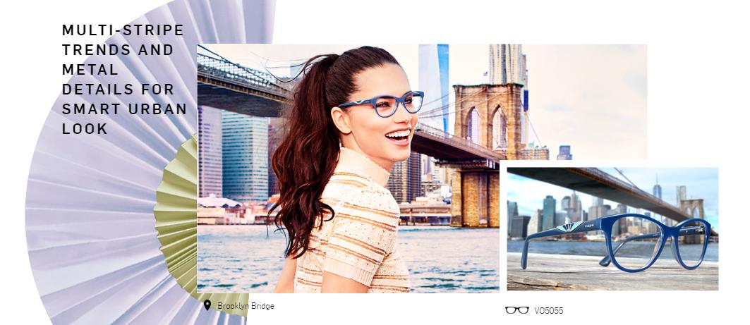 Pogled koji oduzima dah , Adriana nosi naočare ukrašene sunčevom lepezom VO5055